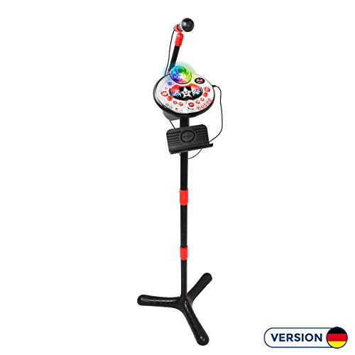 VTech 80–165874 Kidi Super Star Dancing Lightshow Water Black karaoké Machine de Karaoke de VTech