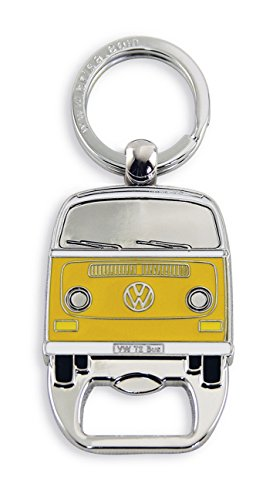 """VW Collection by BRISA VW T2 bus Porte-clés avec décapsuleur, jaune"" de VW Collection by BRISA"