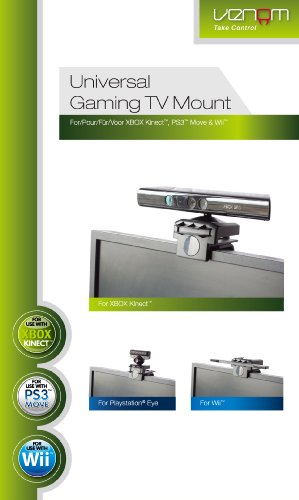 TV clip pour PS Move Eye/Kinect/Sensor bar Wii de Venom