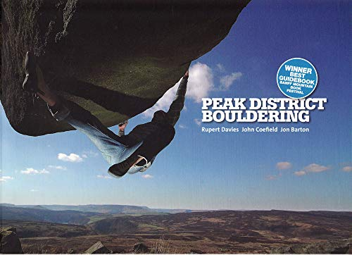 Peak District Bouldering de Vertebrate Publishing
