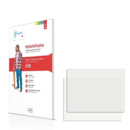 """2x Vikuiti MySafeDisplay CV8 Film de protection d'écran Samsung L83T (surface ultra-claire, répare les rayures, application sans soufflures, découpe sur mesure)"" de Vikuiti"