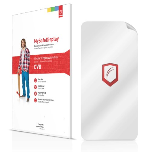 """2x Vikuiti MySafeDisplay CV8 Film de protection d'écran Samsung NX210 (surface ultra-claire, répare les rayures, application sans soufflures, découpe sur mesure)"" de Vikuiti"