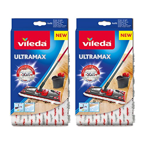 Vileda Ultramax/1–2 Spray Recharge en microfibre – Lot de 2 de Vileda