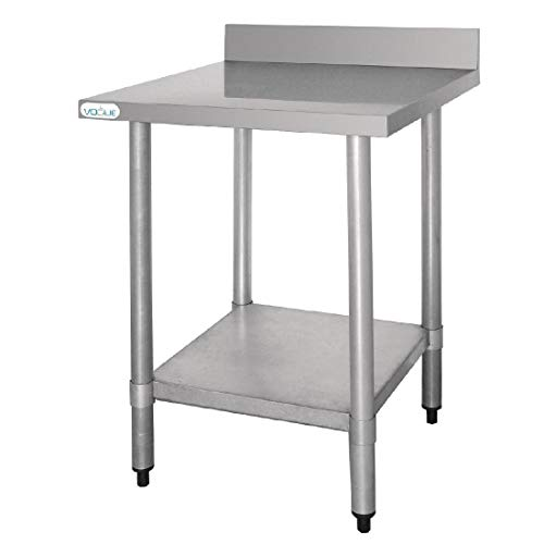Vogue T379 Table en acier inoxydable de Vogue
