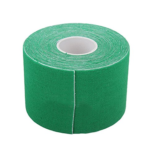 WINOMO Kinesiology Tape Sports Physio Muscle Strain Bande de support pour Uncut 5CM x 5M (vert) de WINOMO
