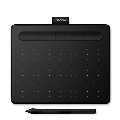 Wacom CTL-4100K-N USB Intuos Small Pen Tablet - Noir - Version UK and Allemande (Prises Différentes) de Wacom