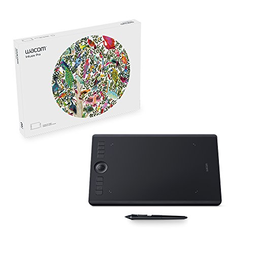 Wacom Intuos Pro Tablette graphique M Noir - VERSION UK de Wacom