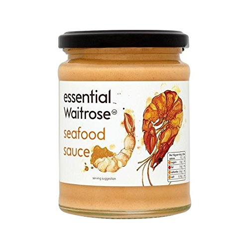 Sauce Aux Fruits De Mer Waitrose Essentielle 290G - Paquet de 4 de Waitrose