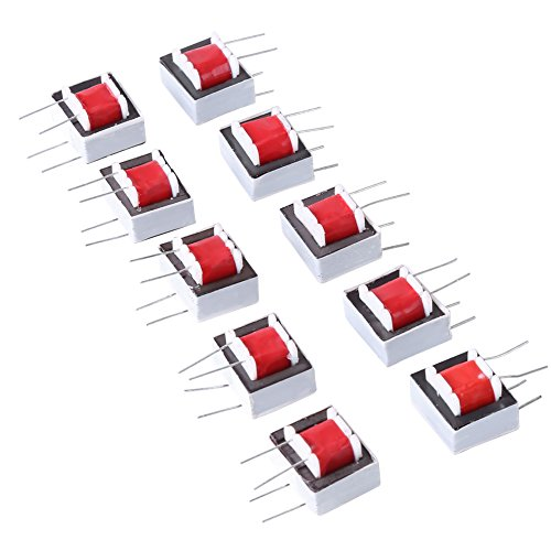 10pcs Transformateur Audio 600: 600 Ohm Transformateur d'Isolement 1: 1 EI14 de Walfront