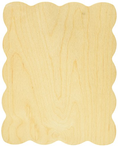"""Noyer creux Bouleau Baltique simple forme Savannah, d'autres, multicolore"" de Walnut Hollow"