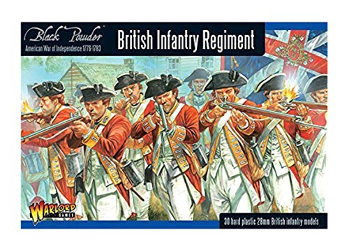 Black Powder - American War Of Independence - British Infantry (28mm) de Warlord Games