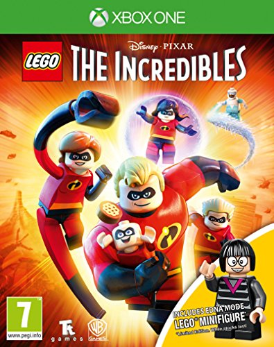 Lego The Incredibles Mini-Fig Edition Xbox One Game (Edna Mode Figurine) de Warner Bros