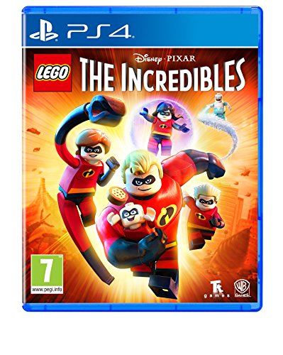 Lego The Incredibles PS4 Game de Warner Bros
