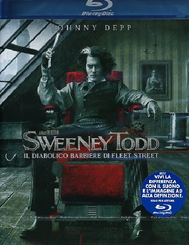 Sweeney Todd - Il diabolico barbiere di Fleet Street [Blu-ray] [Import anglais] de Warner Home Video
