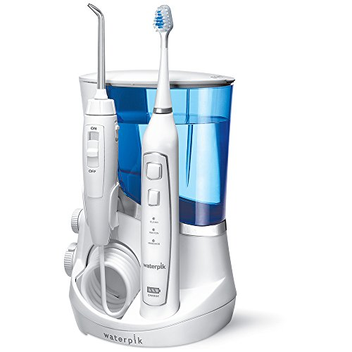 Waterpik wp861-e2 Hydropulseur Waterpik avec brosse à dents à ultrasons de Waterpik