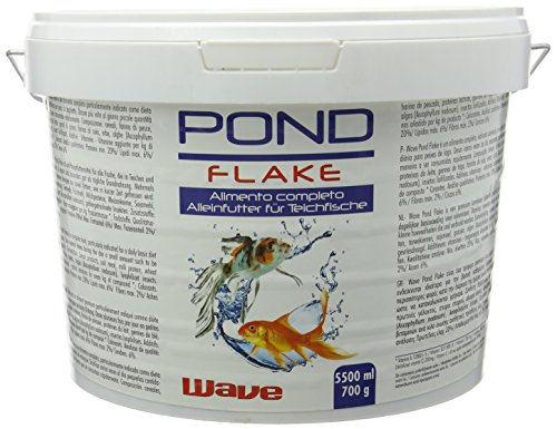 WAVE Pond Flake Nourriture pour Aquariophilie 5500 ml de Wave