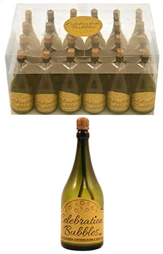 Kressies Wedding Accessories Set de 24 petites bouteilles de champagne-bulles de savon de Wedding Bubbles