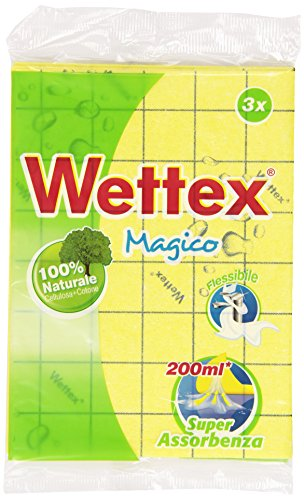 Wettex – Chiffon multi-usages, Absorption Super – 3 pièces de Wettex