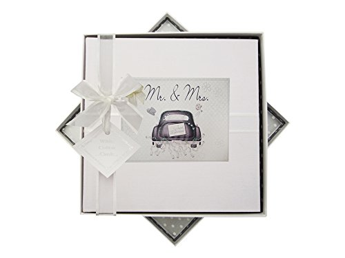 White Cotton Cards Wedding Day Album Taille M (voiture) de White Cotton Cards