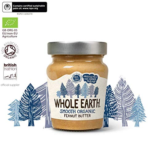 Whole Earth | Peanut Butter - Smooth Organic | 6 X 227G de Whole Earth