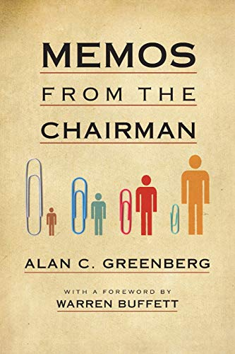 Memos from the Chairman de Workman Publishing