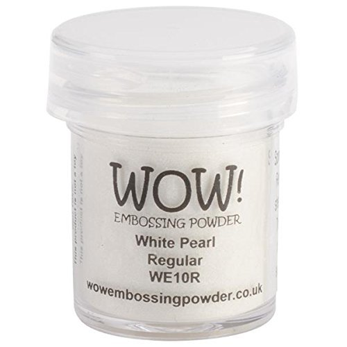 WOW ! Embossage poudre 15ml-blanc perle de Wow Embossing Powder