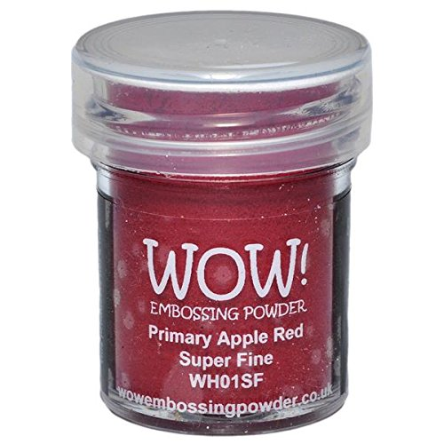 WOW ! Embossage poudre Super Fine 15ml-primaire Apple Red de Wow Embossing Powder