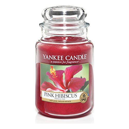 Yankee Candle 1302664E Bougie Parfumée Hibiscus Rose Rouge de Yankee Candle