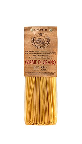 Antico Pastificio Toscano MORELLI - Spaghetti with Wheat Germ - Pack of 2 packs (2 x 500g) de YesEatIs