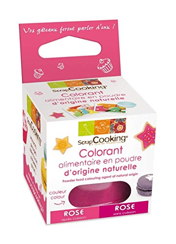 SCRAPCOOKING - Colorant alimentaire naturel rose de ScrapCooking