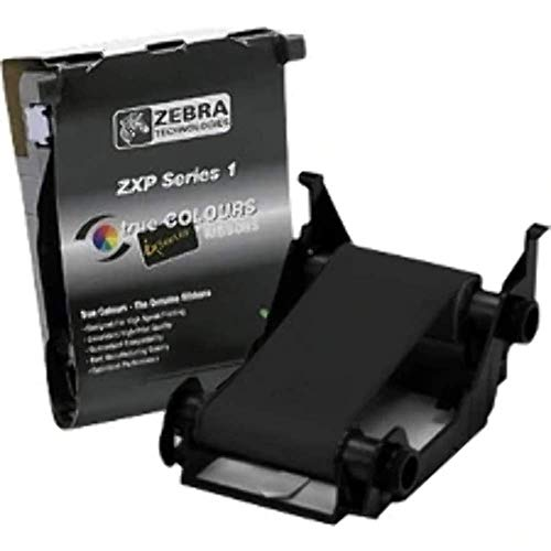 Zebra Tue colours Ribbons Zxp Series 1 de Zebra