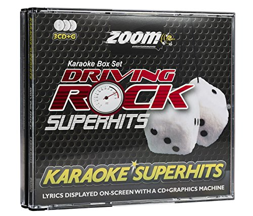 Zoom Driving Rock Superhits-Triple CD+G Karaoke Pack [Import Anglais] de Zoom Karaoke