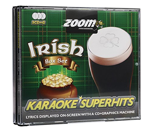 Various Karaoke Irish Superhits 3 CDG Set/63 Titel [Import Allemand] de Zoom Karaoke