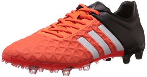 adidas Performance X15.3 FG/AG, Chaussures de Football Homme - Rouge - Rot (Bold Orange/Core Black/Solar Orange), 43 1/3