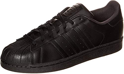big sale 6f97c 054f2 adidas Sneakers Superstar C77124W Scarpe Donna in Pelle Bianca nera 38 2 3  Homme (