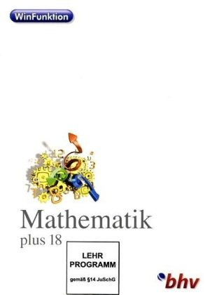 WinFunktion Mathematik 18 [import allemand] de bhv Distribution GmbH