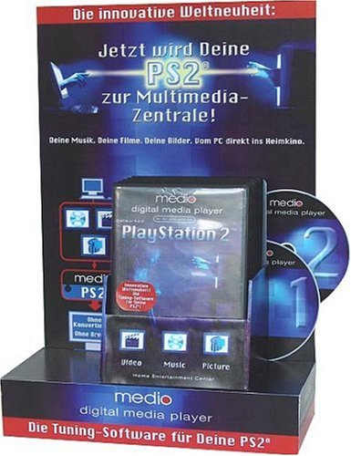 Medio digital media player (PlayStation 2) [import allemand] de broadq