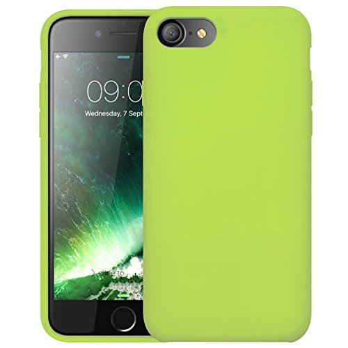 """First2savvv vert iPhone 7 4.7"""" Absorbant les chocs Coque Housse Silicone Case Cover -XJPJ-I7-4.7-C06"" de first2savvv"