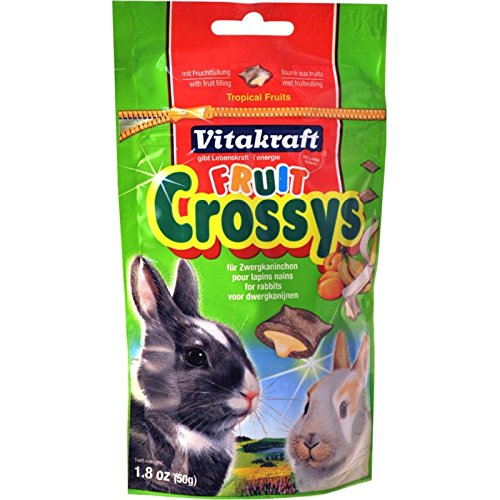 Vitakraft Rabbit Fruit Crossys Banana and Apricot 50g de marque+generique