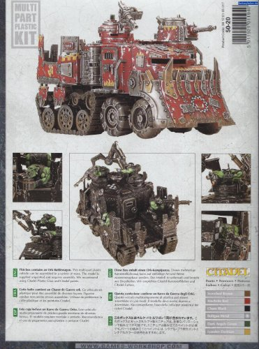chariot de guerre ork de Games Workshop