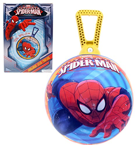 Mondo - 6962 - Jeu de Plein Air - Ballon Sauteur Ultimate - Spiderman 360° de mondo