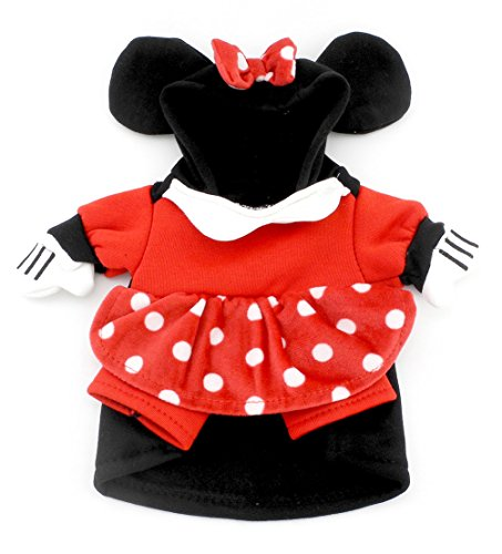 Smalllee Lucky Ranger Petit Chien à capuche Pois Robe Automne Mini Mouse Costume de smalllee_lucky_store